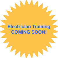 Electrician Training COMING SOON!